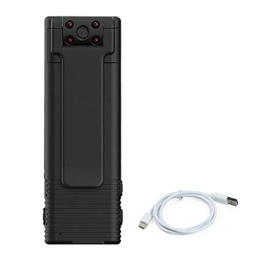 NiceJoy Registrador de la cámara Mini 1080 B21 pequeño Mini cámara inalámbrica de Seguridad Negro