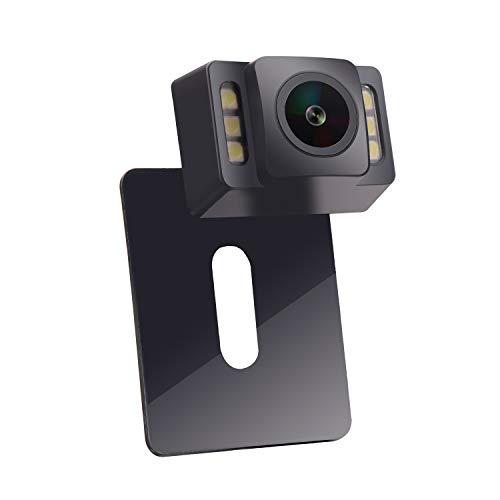 LOSKA Waterproof IP68 Night Vision 170 Degree Car Rear view//Reversing//Reverse Camera Universal Color CMOS Imaging Chip Backup Parking HD Front View Camera