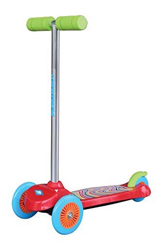Schildkröt Unisex Jugend Little1 Kids Scooter Little 1, Robustes Kunststoffdeck, abnehmbare Lenkstange, ideal für Kinder ab 3 Jahren, Farbe: Rot, 510392, One Size