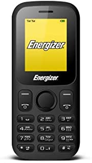 Energizer Energy E10 Feature Phone, 32 MB RAM, Dual Mini Sim - Black