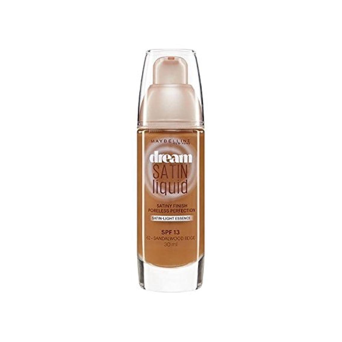 ベッド輸血財産メイベリン夢サテンリキッドファンデーション64深いスパイス30ミリリットル x4 - Maybelline Dream Satin Liquid Foundation 64 Deep Spice 30ml (Pack of 4) [並行輸入品]