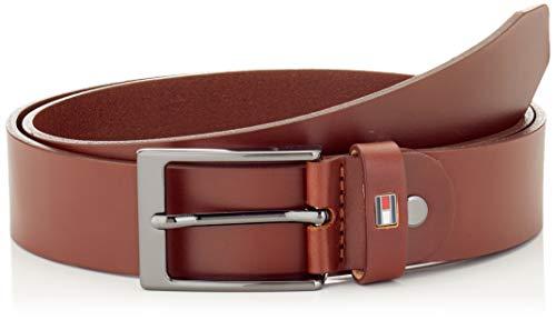 Tommy Hilfiger Herren Layton Adjustable 3.5 Gürtel, Braun (Brown 0Hd), (Herstellergröße: 85)