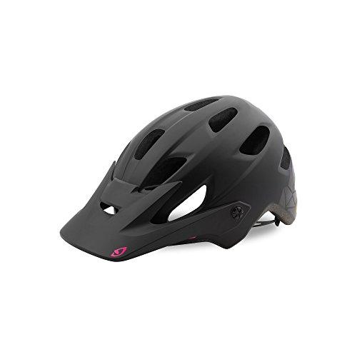 Giro Cartelle MIPS Casco de Ciclismo, Mujer, Cristal Negro/Rosa Mate, M