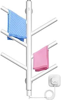 bathroom accesories Montado en La Pared Toallero Eléctrico Calentado ,Cuarto de Baño Toallero Calefactor Tendedero Secado + Toallero Antibacterial Calentado ,Apto para Balcones, Hoteles