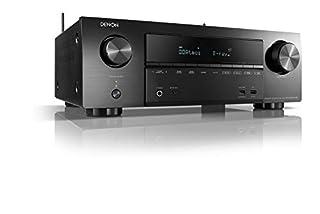 Sintoamplificatore AV Surround 7 canali, potenza 145W per canale (6 ohm, 1 kHz, 1 kHz, THD 1%, 1ch in funzione) ingressi HDMI e audio digitali, ingresso Phono MM per giradischi Connessione Wi-Fi con HEOS Built-in, Bluetooth e USB Telecomando incluso