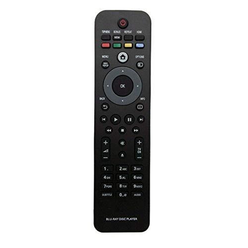 VINABTY Ersatz Fernbedienung für Philips BLU-RAY DISC Player BDP3406 BDP5100 BDP5180 BDP5406 BDP7300 BDP7500 BDP5000 BDP2850 BDP3000 BDP3100 BDP3200 BDP3280 BDP3380 Remote Controller