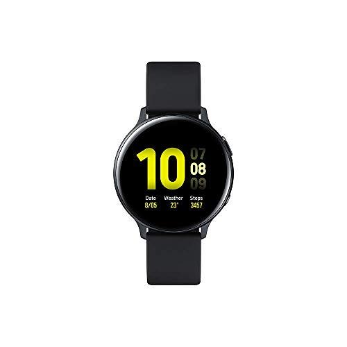 Samsung - Montre Galaxy Watch Active 2 Bluetooth - Aluminium 44 mm - Noir Carbone - Version Française