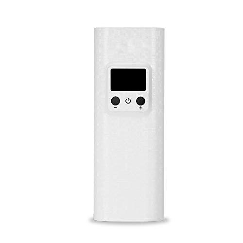BrightBulb Tomo 18650 Li-On Batería Cargador Banco De Energía Portátil Viaje Cámping Senderismo USB Batería Cargador - Blanco