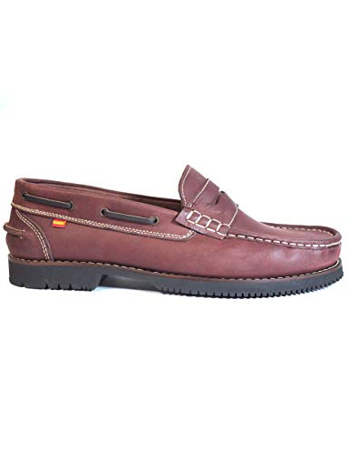 Zapatos náuticos Unisex Tipo Apache Fabricados Piel