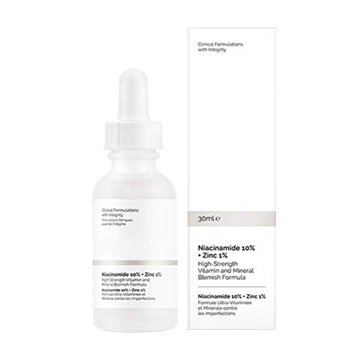 Sttoce Niacinamide 10% + Zinc 1% - Niacinamide Serum for Face, Vitamin B5 Facial Nicotinamide Essence for Anti Wrinkles, Whitening, Pore Reducer, Hyperpigmentation, Dark Spot Remover, 1 oz (30ml)