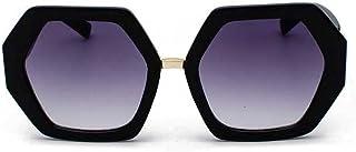 MariaKinz: Versa, Geometrical Hexagonal Oversized Women Sunglasses