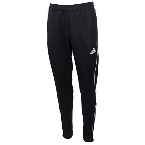 adidas Herren CORE18 TR PNT Sport Trousers, Schwarz (Black/White), M