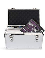 Acc-Sees Pro - Caja de almacenamiento para discos de vinilo de 45 revoluciones