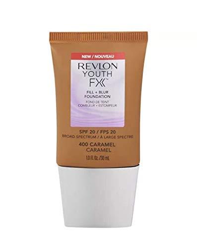 2 x Revlon Youth FX Fill + Blur Foundation SPF20-400 Caramel