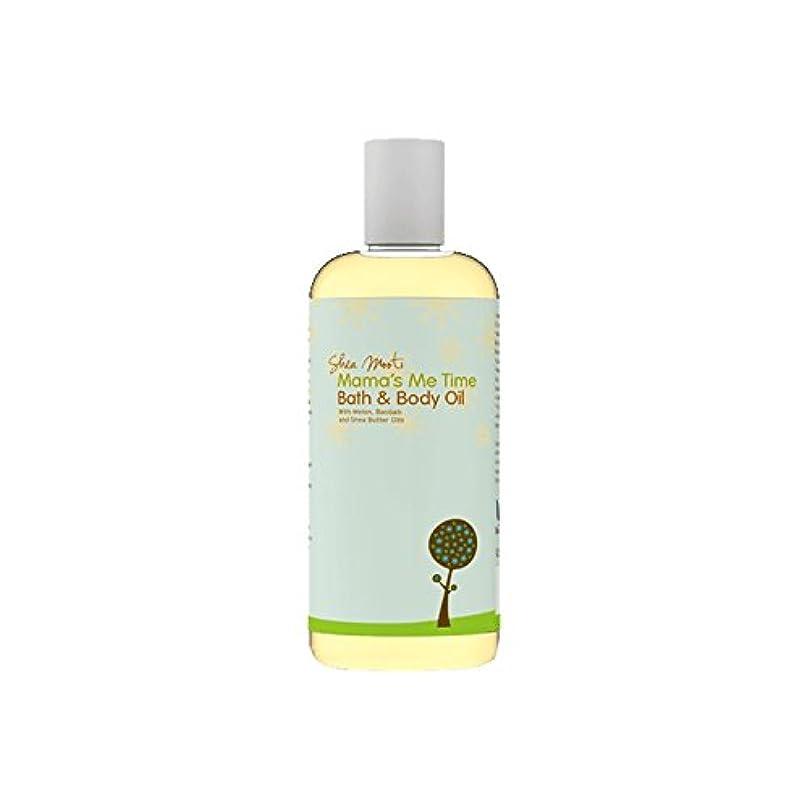 地上で一般不格好Shea Mooti Mama's Me Time Bath and Body Oil 110g (Pack of 6) - シアバターMootiママの私の時間のバス、ボディオイル110グラム (x6) [並行輸入品]