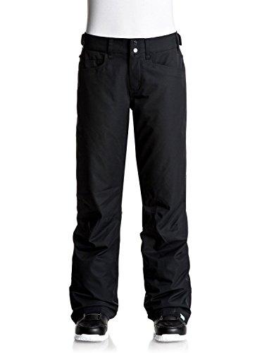 Roxy - Backyard - Pantalon de Ski - Femme - Noir (Anthracite/Solid) - FR : L (Taille Fabricant : L)