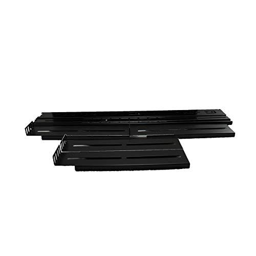 UNYKAch 52094 Accesorio de Bastidor Kit de carriles de Rack - Accesorio de Rack (Kit de carriles de Rack, Negro, 2U/4U, 45 mm, 550 mm, 2,2 kg)
