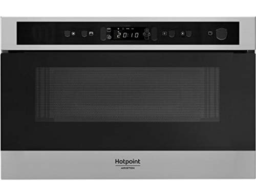 Micro ondes Encastrable Hotpoint Ariston MN512IXHA - Micro-Ondes + Vapeur Intégrable Acier inox - 22 litres - 750 Watts