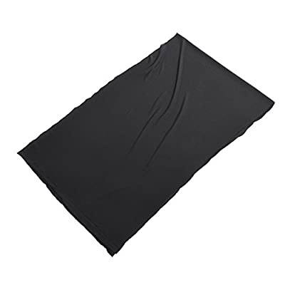 Goshyda Speaker Mesh Cloth, 1.7 * 0.5 m/67 * 20 in Stereo Speaker Fabric Grill Cloth Dustproof Protective Cover for Large Sound Box, Stage Sound Box, KTV Box(Black) by Goshyda