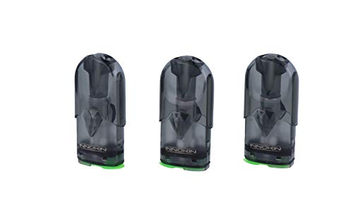 Innokin I.O Pod mit Kanthal oder Keramik Verdampferkopf - 3 Stück pro Variante und Packung - Variante: 1,4 Ohm Keramik Head