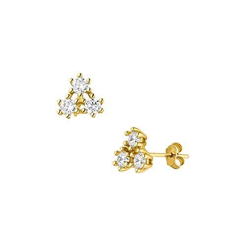 PURELEI® Kanani Ohrringe (Gold, Vergoldet)