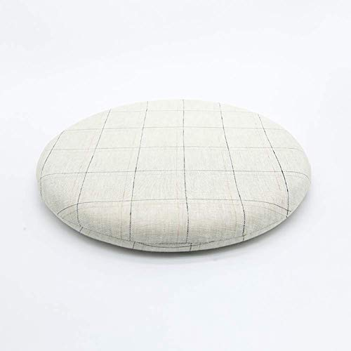JINDSMART Outdoor Indoor Chair Cushion Round Cushion,Cushions for Patio Furniture,Seat Cushion Dining Chair for Pressure Pain Relief