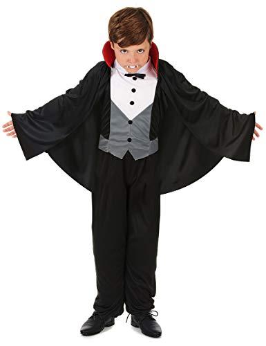 Generique - Déguisement Vampire Chic garçon Halloween L 10-12 Ans (130-140 cm)