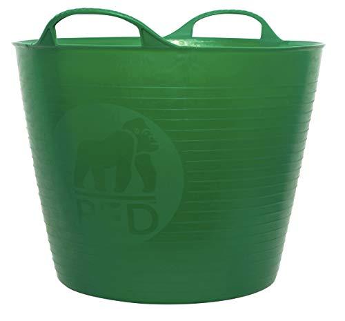 Decco Ltd Cubo Flexible, Verde, 26 litros