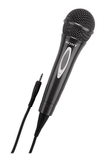 Sony F-V320 Uni-Directional Vocal Microphone with Built-In On/Off Switch