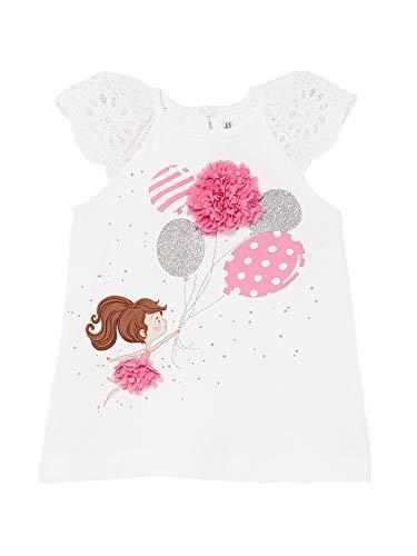 Mayoral 21-01983-091 - Vestido para bebé niña 18 Meses