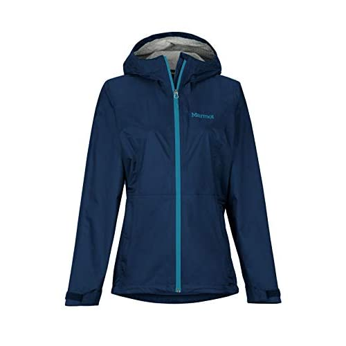 Marmot Women's Wm's PreCip Eco Plus Jacket Hardshell Raincoat, Windproof, Waterproof, Breathable
