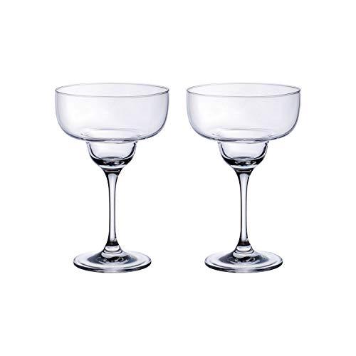 Villeroy & Boch Purismo Bar Copas de Cóctel Margarita, Set 2 piezas, 340 ml, Vidrio de cristal, Transparente