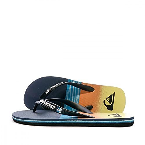 Quiksilver Molokai Hold Down, Zapatos de Playa y Piscina Hombre, Azul (Black/Blue/Black Xkbk), 42 EU