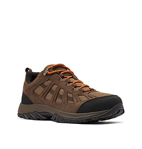 Columbia Redmond III, Zapatillas para Caminar Hombre, Sillín Caramel, 41.5 EU