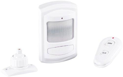 VisorTech Alarmanlage mit Simkarte: PIR-Bewegungsmelder mit SIM-Karten-GSM-Funktion, Batteriebetrieb (Alarm Bewegungsmelder)