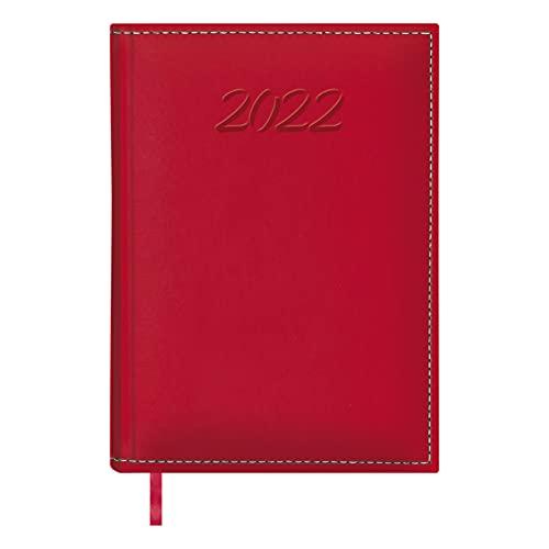 DOHE Ipanema - Agenda Día Página, 17 x 24 cm DP, Rojo - Agenda 2018