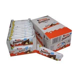 FERRERO フェレロ Kinder Bueno 30個入り 並行輸入品