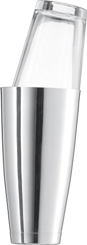 Schott Zwiesel Boston Basic BAR SELE.by CH.Schumann V 0,7 Shaker, Roestvrijstaal en Tritan Kristalglas, Silber, 9.2 cm