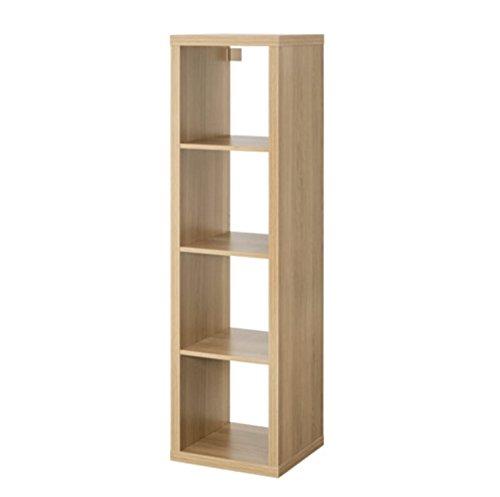 Ikea Kallax, 4er Regal, Eiche, rechteckig