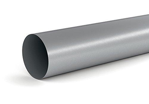 Lüftungsrohr SR-R 150 Rundrohr in 1000 mm Länge mit Durchmesser 148 mm innen / COMPAIR STEEL flow 150 (System Ø 150)