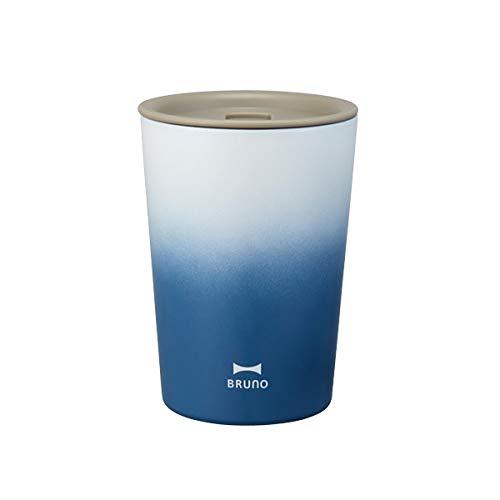 BRUNO ブルーノ リッドタンブラー Tall ネイビー Navy シンプル スリム アウトドア おしゃれ かわいい 保冷 保温 水筒 ふた付き 真空二重構造 ボトル父の日 プレゼント ギフト 贈り物 お祝い 軽い BHK213-NV 6760708