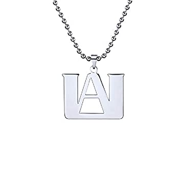 TAGOMEI My Hero Academia Stainless Steel Necklace Gift for Anime Fans Fashion Gift