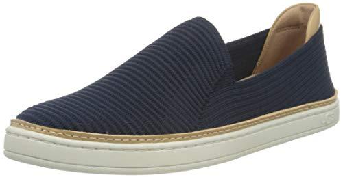 UGG Australia Damen Sammy Sneaker, Marineblau Rippstrick, 41 EU