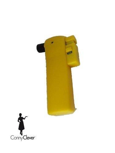Gasbrenner Gaslöter Micro-Torch Piezo Farbe gelb