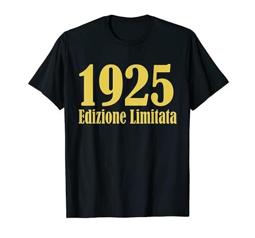 1925 Edizione limitata 96 Anni Compleanno Uomo Donna Regalo Maglietta