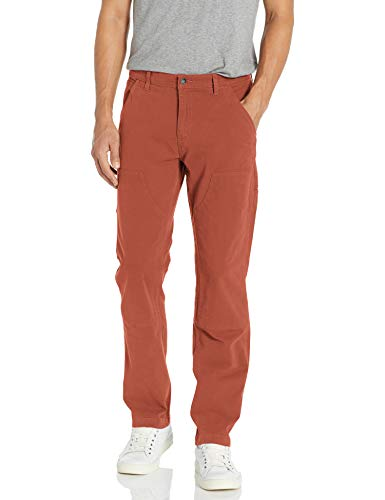 Amazon Brand - Goodthreads Men's Straight-Fit Carpenter Pant, Rust 42W x 36L