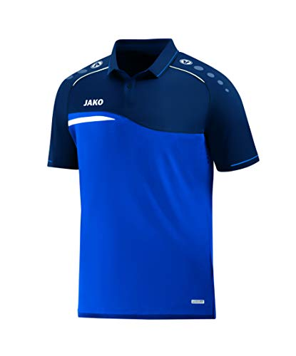 JAKO Polo pour Homme, Taille S, Royal/Marine
