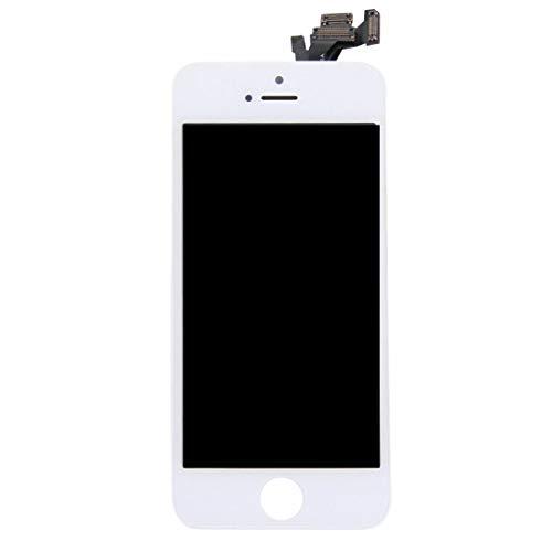 Pro-Mobile LCD-scherm Retina/vervangend display voor iPhone volledig voorgemonteerd front incl.reparatiegereedschap vervangdisplay/vervangend beeldscherm voor, iPhone 5, wit