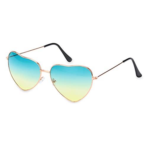 UKKD Gafas De Sol Fashionless Dragonfly Wing Gafas De Sol Mujeres Vintage Clear Ocean Lens Eyewear Mujeres Girls Sun Gafas Sombras Uv400-D05