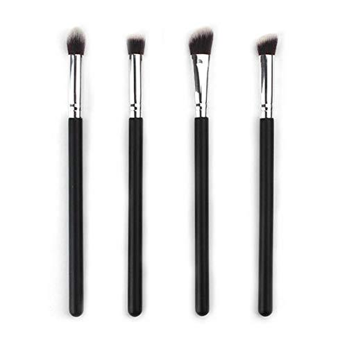 zhouweiwei 4 Pcs Visage Maquillage des Yeux Brosses Fard À Paupières Pinceau Ensemble Blush Conique Mélange Partout sur Shader Brosses De Mélange